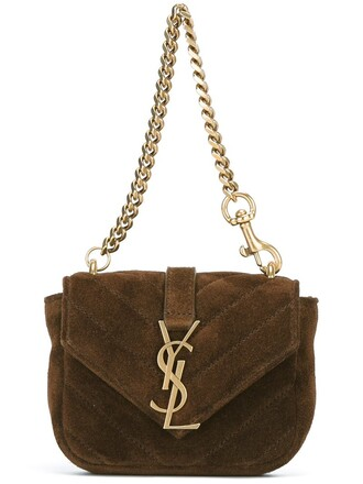 college mini bag brown