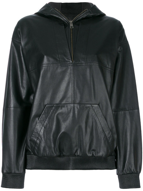 Zadig & Voltaire hoodie women cotton black sweater