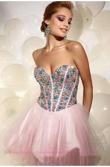 Line sweetheart sleeveless short/mini homecoming dress