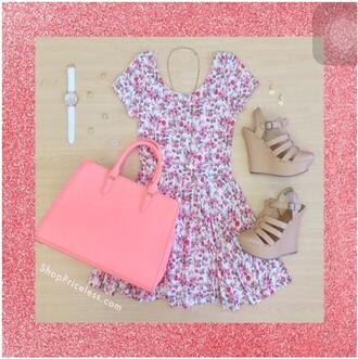 dress summer dress knee length dress