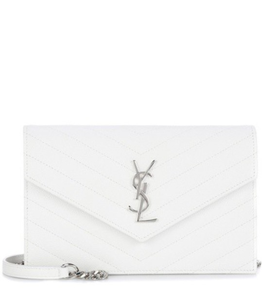 Saint Laurent classic bag shoulder bag leather white