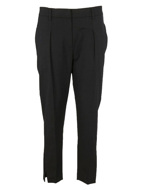 BRUNELLO CUCINELLI classic black pants
