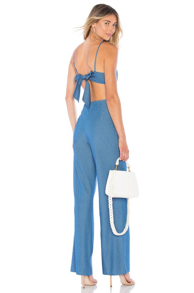 Lovers + Friends Gardenia Jumpsuit in blue