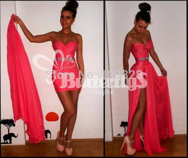 Aliexpress.com : buy 2014 new design custom made a line floor length detachable train sleeveless sexy sweetheart backless prom/evening dresses from reliable designer dog life jackets suppliers on rose wedding dress co., ltd