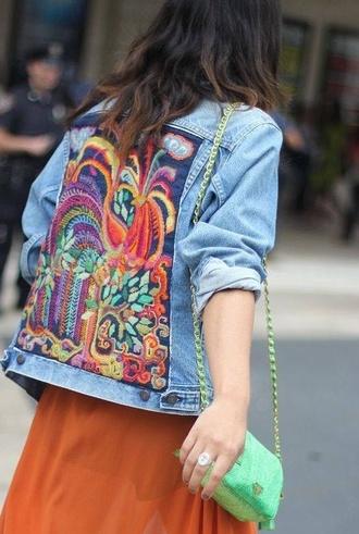 vintage jacket denim hippie hippie jacket hippie colors denim jacket denim denim denim jacket vintage coat levi's