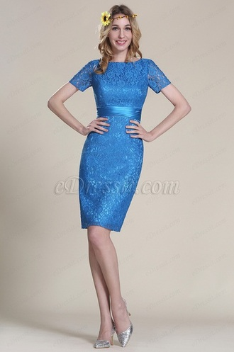 dress wedding bridesmaid blue party gown beautiful
