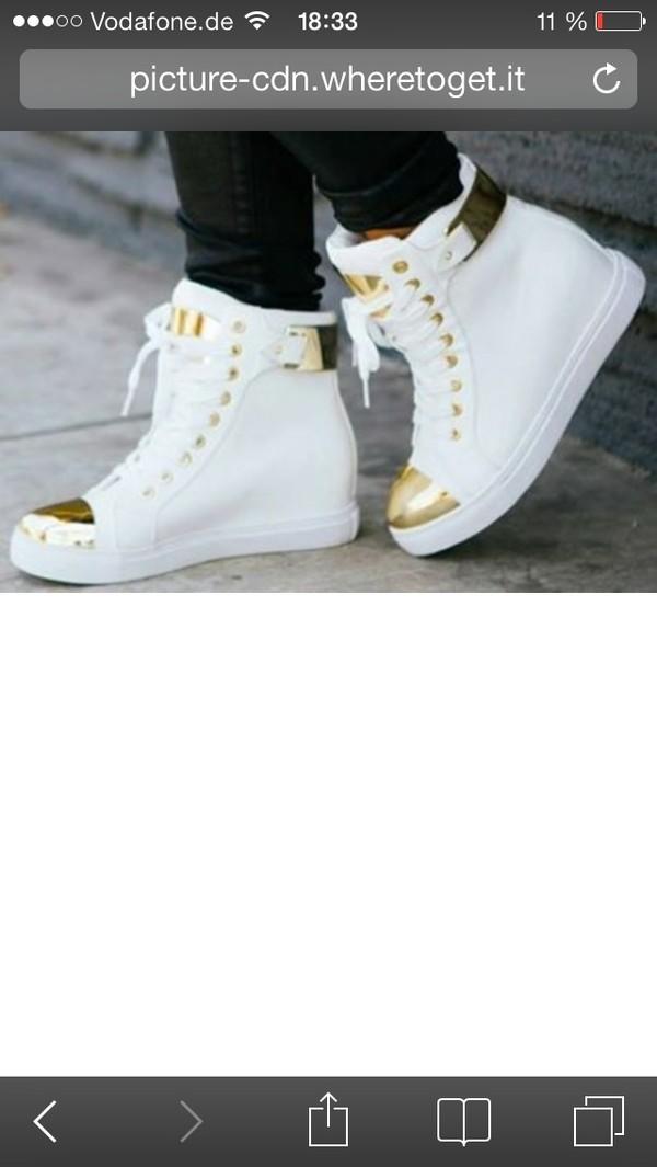 shoes whait