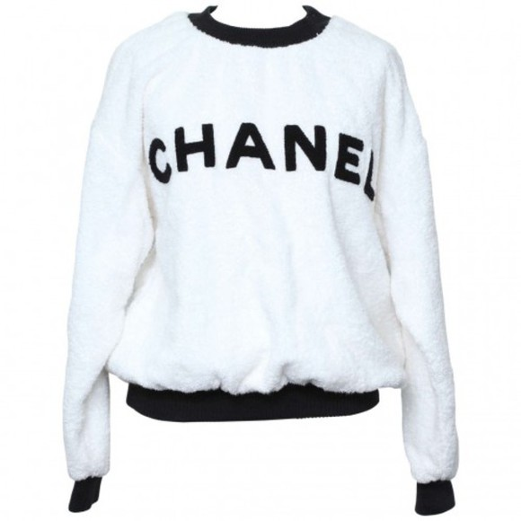 designer chanel sweater