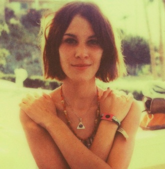 necklace alexa chung alexa chung grey jewels blue jewels