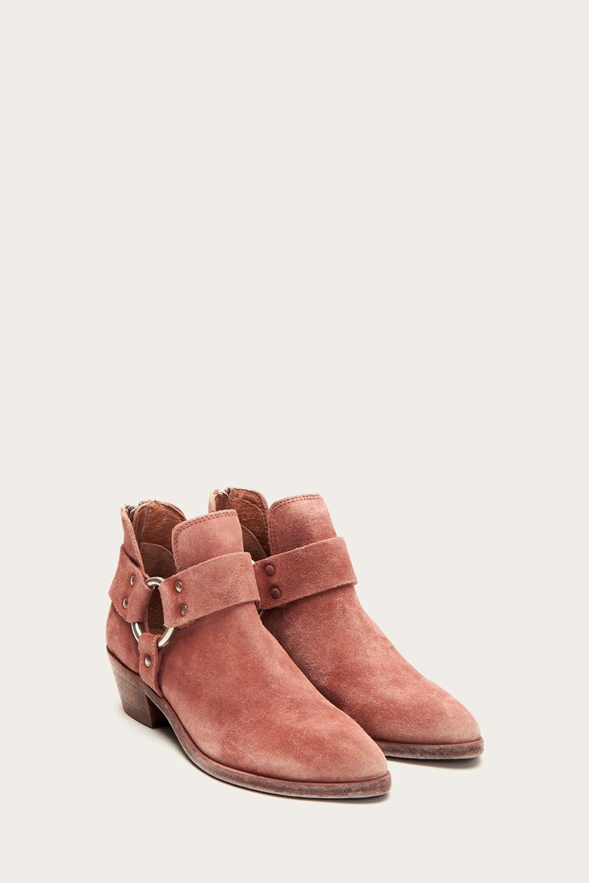 Ray Harness Back Zip Boots Low