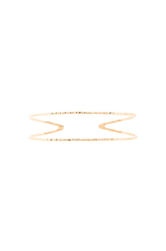 cuff metallic gold jewels