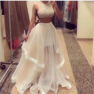 dress white dress prom