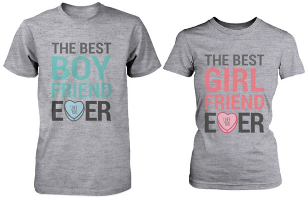shirt boyfriend tshirt girlfriend shirt girlfriend gift boyfriend gift couple shirts gym shirts work out t