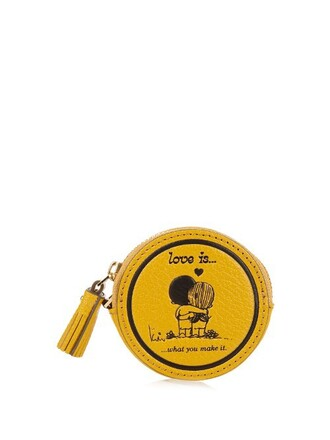 love purse dark yellow bag