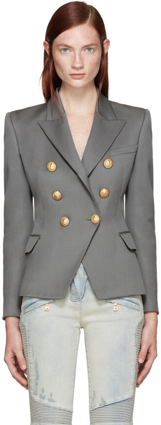 blazer grey jacket