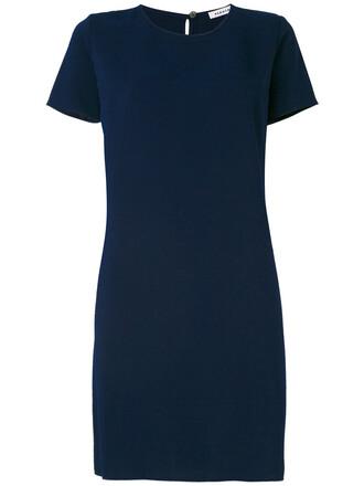 dress shirt dress t-shirt dress women blue