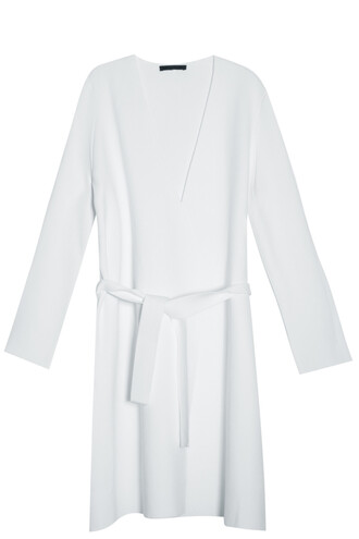 coat knit white