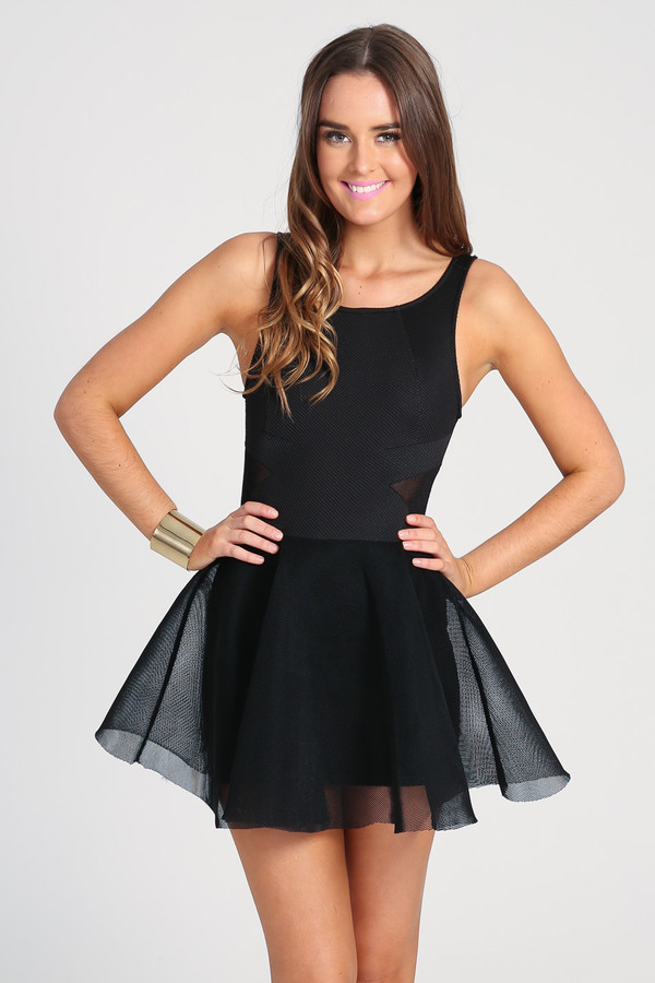 ustrendy ustrendy dress black dress little black dress little black dress tulle skirt ootn ootd dress