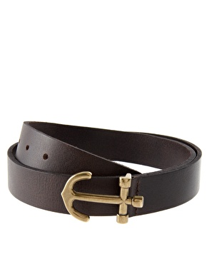 Asos anchor buckle belt at asos