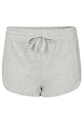 Grey Marl Jersey Runner Shorts - Running & Cycling Shorts - Shorts  - Clothing - Topshop