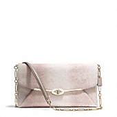 Coach :: MADISON CLUTCH IN EMBOSSED LIZARD LEATHER