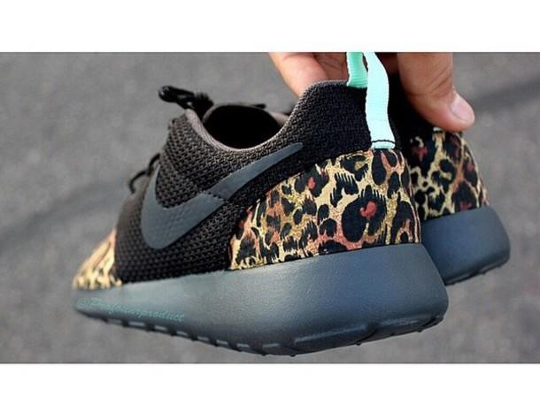 79c1aa3f3580 shoes cheeta print roshe runs buy now custom made nike roshes cheetah
