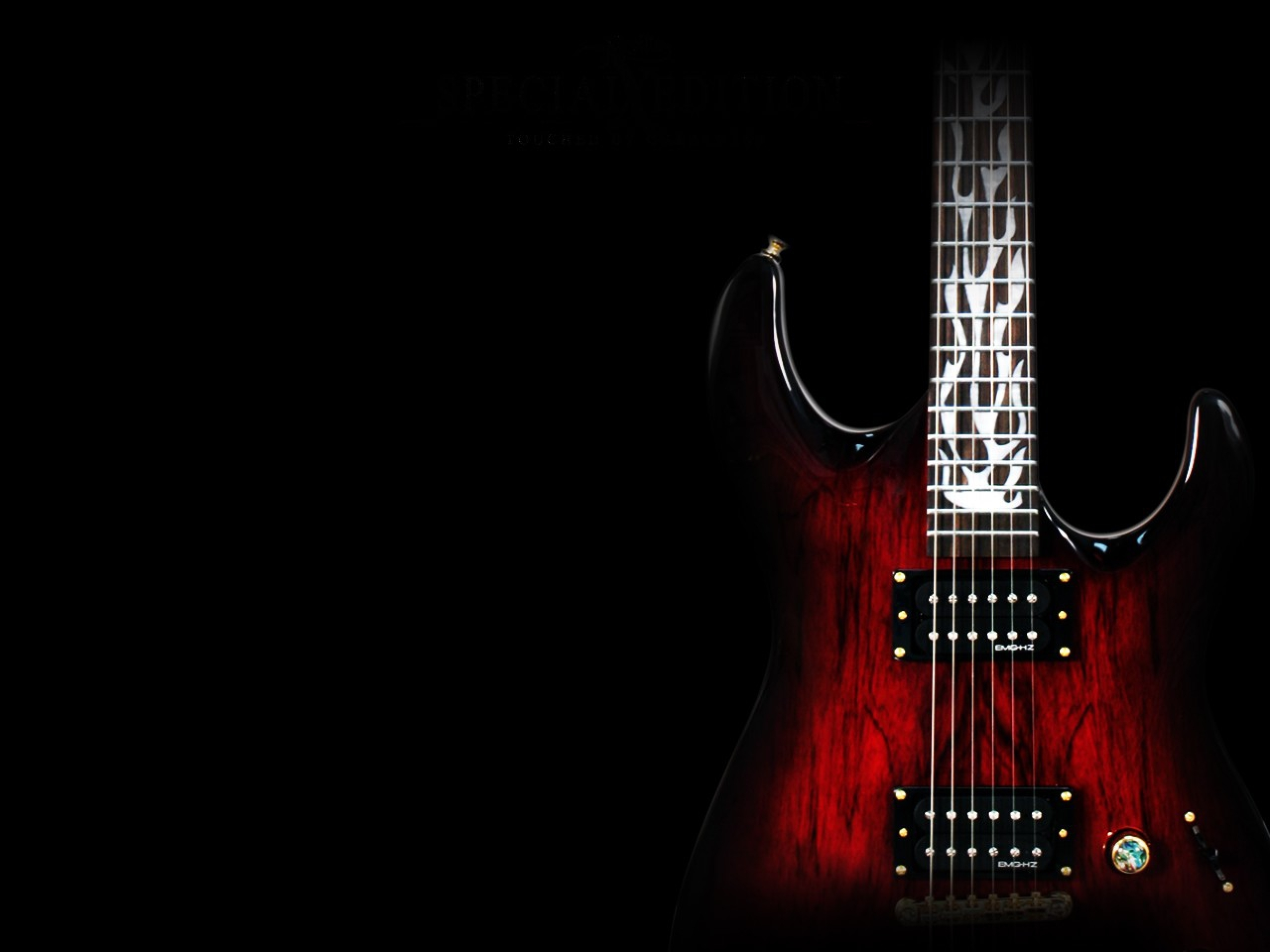 Download Wallpapers Download 2560x1920 3d Abstract Guitar