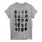 Blue & cream rapper t-shirt - tees shop