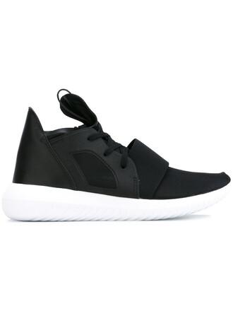 women sneakers black neoprene shoes