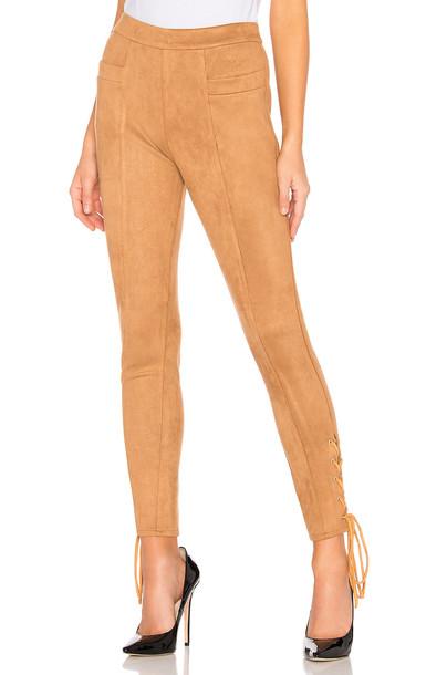 MAJORELLE Jillian Pant in brown