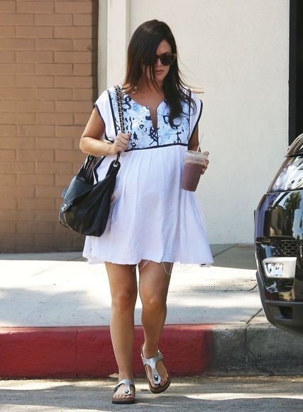 rachel bilson dress maternity dress pregnancy summer outfits