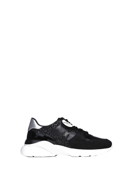 Hogan Active One Black And Silver Sneakers
