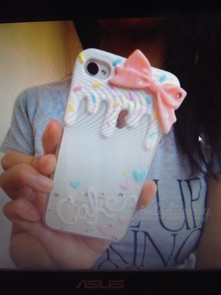 jewels phone phone case cuz cute style stylish sweet cake