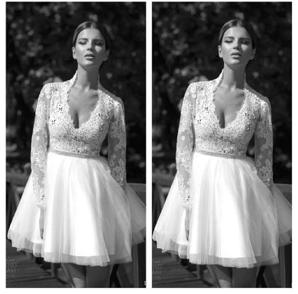 Dress Wedding White Court House Short