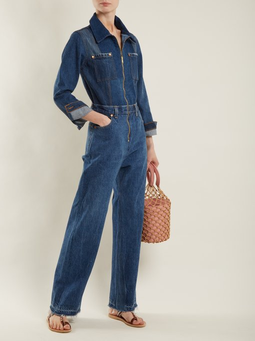 X Levi's straight-leg denim jumpsuit | Re/Done Originals | MATCHESFASHION.COM US