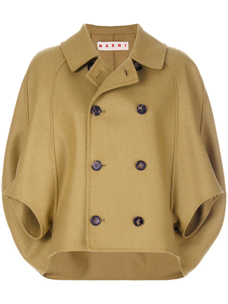 MARNI jacket women wool green