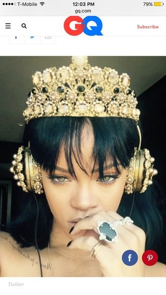 jewels crown jewelry gold headband head jewels headpiece instagram famous cute
