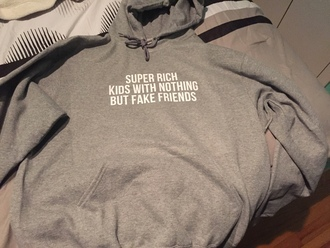 top hoodie grey gray fasion thug life
