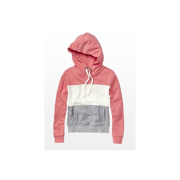 Color Block Hoodie - Hoodies & Fleece - Garage - Polyvore