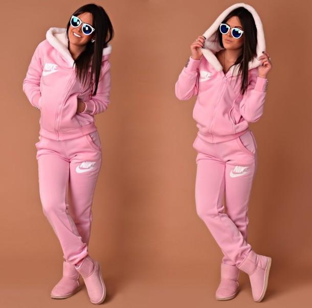 9039ae1bd917 jumpsuit nike nike jacket tracksuit pink