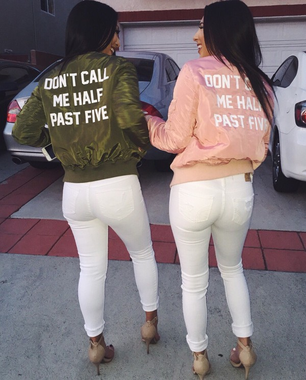 496508dc1 Custom *YOUR MESSAGE* Bomber Jacket