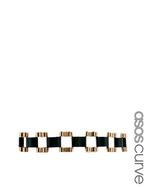 ASOS Curve | ASOS CURVE Chunky Wide Link Belt at ASOS