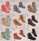 Up ankle booties (assorted colors) from mad bargains on storenvy