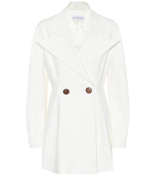 Rejina Pyo Maya cotton-blend blazer in white