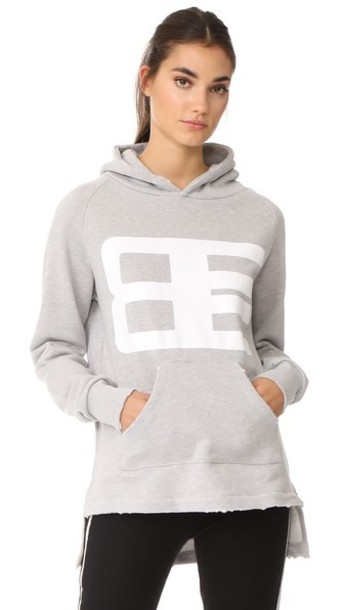 hoodie light grey sweater