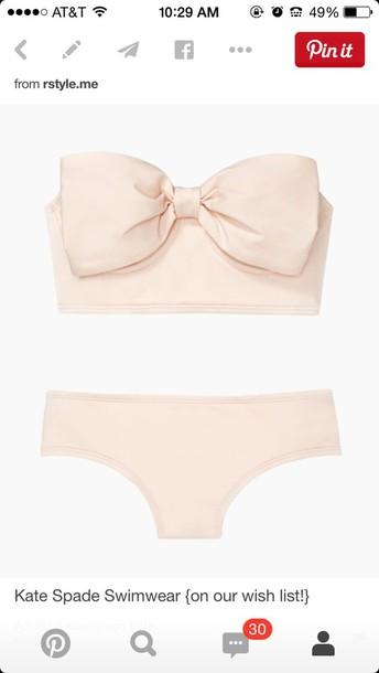 swimwear kate spade swimsuit bow white