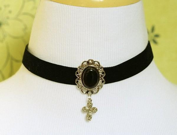 jewels чокер кулон