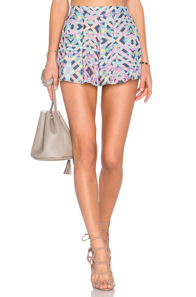 Lovers + Friends shorts blue