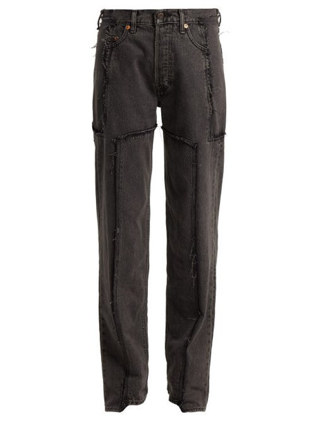 Vetements - X Levi's Reworked Straight Leg Jeans - Womens - Black