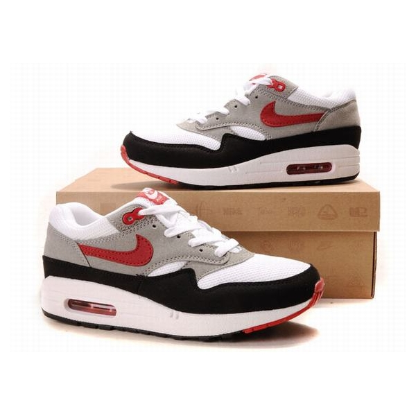Cheap nike air max 87 red white grey black mens shoes  on sale